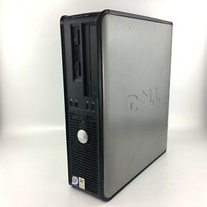 WINDOWS XP 32 BIT DELL OPTIPLEX 755 DESKTOP COMPUTER PC INTEL DUAL - 2GB - 80GB