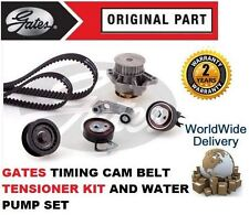 Per AUDI A2 1.4 16V AUA BBY 2000-2005 Timing Cam Belt TENSIONATORE + POMPA ACQUA KIT