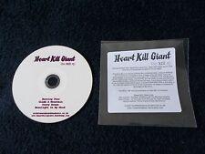 Rare Promo CD, HEART KILL GIANT - The Kill EP, 4 Tracks Single 2011, Rough Trade