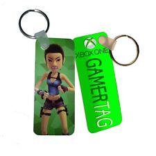 Personalised Xbox One Avatar & Gamertag or Name Fiberglass Plastic Keyring