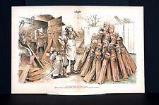 Ben Harrison 1889 CABINET MAKER CARPENTER Wannamaker Reed Goff Swift Platt Art