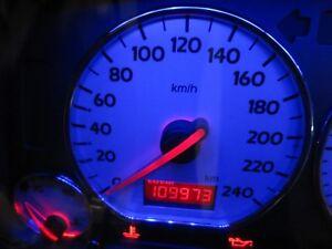 VW Golf 3 GTI 16V Tacho MFA silber Edition 0-240 Kombiinstrument Blau Rot Weiß