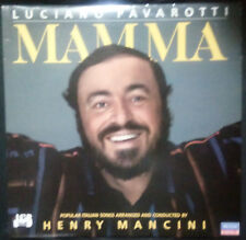 LUCIANO PAVAROTTI MAMA VINYL LP AUSTRALIA (CONDUCTED BY HENRY MANCINI)