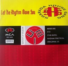 "SHARADA HOUSE GANG Let the Rhythm Move You 12"" Vinyl Single EXCELLENT CONDITION"