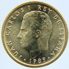 SPAIN JUAN CARLOS I 100 PESETAS 1989 KM-826 (MINT ROLL)