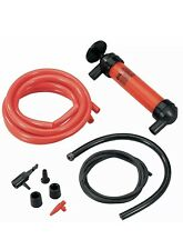 Gasoline Transfer Pump Manual Hand Use Siphon Kit