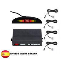 4 SENSORES  APARCAMIENTO CON + PANTALLA LED PARKING APARCAMIENTO (COLOR BLANCO)