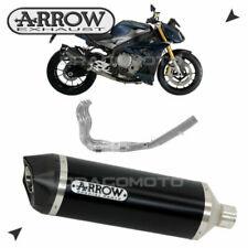 Sistemas completos de escape negras de aluminio para motos
