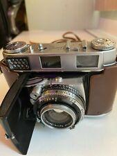 Vintage Kodak Retina Iiic 3c camera w/Schneider-Kreuznach Lens w/leather case