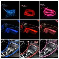 1 Set Car LED Interior Decorative Atmosphere Wire Strip Light Lamp Accessories