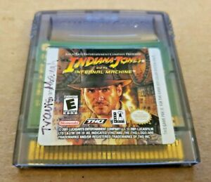 Indiana Jones And The Infernal Machine - Nintendo GameBoy Color - TESTED WORKING