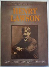 Henry Lawson: Favourite Poems and Stories by Henry Lawson Paperback 2009
