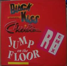 "BLACK KISS ft CHERITA Jump On The Floor 12"" PS DUTCH"