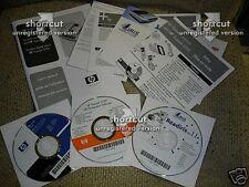NEW HP Scanjet 5590 3 software disks: Readiris Pro 11; Photosmart; Image zone