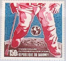 DAHOMEY 1974 565 C208 Astronaut on Moon Earth Space Weltraum Mondlandung MNH