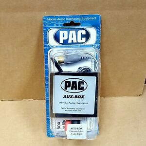 PAC AUX-BOX Universal Auxiliary Audio Input Adapter * NEW IN OEM PACKAGE *