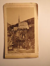 Basilique Notre Dame de Lourdes - ca. 1870/80er Jahre / CDV