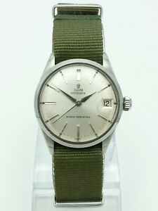 Vintage Tudor Oysterdate Watch, Cal. 2403, 1965, 32mm, Great Condition