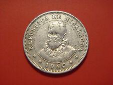 Nicaragua 25 Centavos, 1964