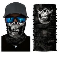 Motorcycle Bandanas Face Mask Neck Tube Scarf Skull Ski Balaclava Snood Party