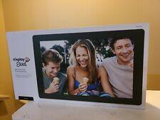 NIXPLAY W10B Seed 10 Inch Widescreen WiFi Digital Photo Frame - NEW OPEN BOX