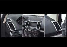 Interior Air Vent Frame Cover Trim 6pcs For Land Rover Freelander 2 2012-2015