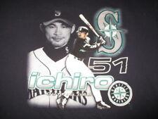 Majestic 2001 ICHIRO SUZUKI No. 51 SEATTLE MARINERS (2XL) T-Shirt