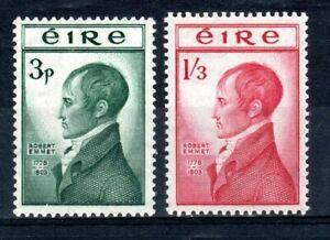 Ireland 1953 Emmet set MNH