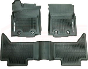 TOYOTA TACOMA  2018-21 Double Cab All Weather Rubber Floor Liner PT9083517420