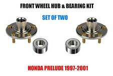FRONT WHEEL HUB & BEARING FOR 1997-2001 HONDA PRELUDE -HONDA CRV PAIR NEW