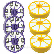 3 x Washable Pre & Post Motor HEPA Filter Kit for Dyson DC05 DC08 Vacuum Cleaner
