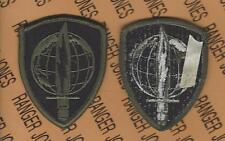 US Army Pacific Command PACOM Type 2 OD Green & Black BDU uniform patch m/e