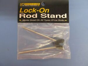 Hi Tech Fishing Lock-On Rod Stands Lot of 7 Rod Stands Bluegill, Perch, Bass NEW