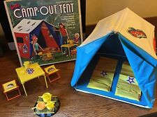 1972 Barbie Camp Out Tent - Complete Set in Original Box