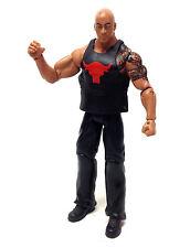 "WWF WWE Wrestling DWAYNE JOHNSON THE ROCK  with vest Mattel 6"" figure VERY RARE"