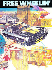 1977 Ford Free Wheelin Edition Brochure Catalog - Mustang Pinto F-150 Ranchero