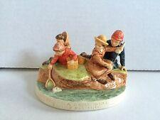 Sebastian Miniatures 2315 Family Fishing America Remembers