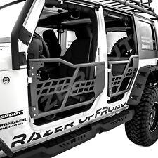 07-18 Jeep Wrangler JK Rock Crawler Body 4x4 Armor Front+Rear Tubular 4 Door Set