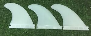 Future Fins Compatible F4 Future Surfboard Fins Thruster Set of 3 Surfboard Mals