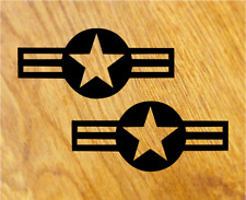 US ARMY STARS Aufkleber Sticker USA Decal Stern Zeichen Oldschool Tuning Race V8