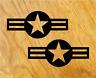 US ARMY STERNE Aufkleber Sticker Stars USA Navy Oldschool Retro Hotrod Tuning V8
