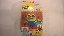 despicable me/ minion, bob with teddy bear,  poseable deluxe figure.  £8.89.