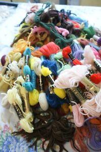 97 skeins tapestry wool job lot