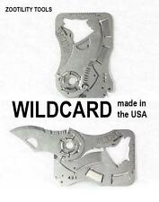 Zootility Tools Wildcard Thin Wallet Knife & Multi Tool Made in the USA