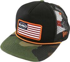 b65bf203c79 FMF Racing Black white Stars and Bars Mens Caps Lids Motocross Snapback Hats