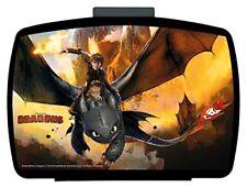 Dragons Premium Brotdose mit Einsatz Lunchbox Dreamworks Ohnezahn Drachen