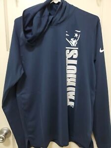 Nike Navy New England Patriots Team Stack Hoodie MENS SIZE (M) NWT