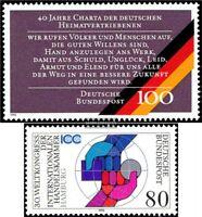 BRD (BR.Deutschland) 1470,1471 (kompl.Ausgaben) gestempelt 1990 Sondermarken