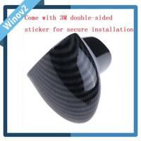 1PC Carbon Fiber Shift Knob Cover Level Head Sheath for Audi A5 A6 A7 Q5 Q7 S6/7