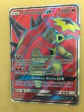 POKEMON card  # Turtonator GX Full Art # Ex Rara Turbo Carta ITA 131/145